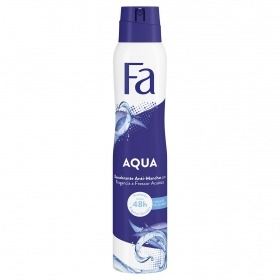 Desodorante en spray Aqua Fa 200 ml.