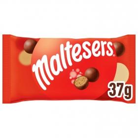 Bolitas de galleta cubierta de chocolate con leche Maltesers 37 g.