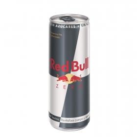Red Bull Zero Bebida energética lata 250 ml.