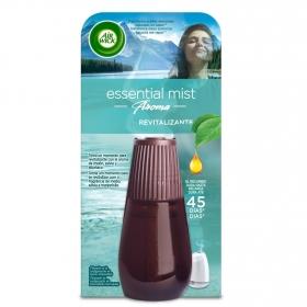 Ambientador eléctrico revitalizante con aroma de melon, salvia y arbahaca recambio Air Wick Essential Mist 1 ud.