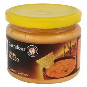 Salsa de queso para dipear Carrefour 300 g.