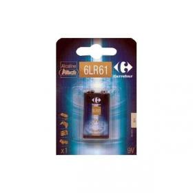 Pila Alcalina I-Tech Carrefour 6lr61