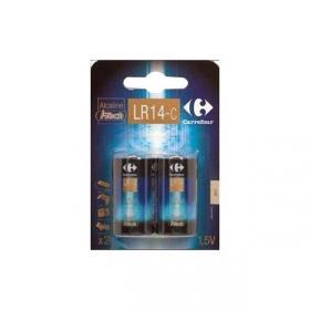 Pack de 2 Pilas Alclainas I-Tech Carrefour Lr14 (C)