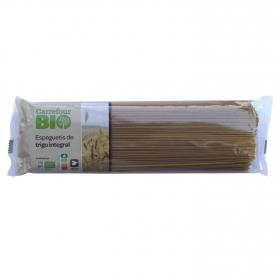 Spaguetti integral ecológico Carrefour Bio 500 g.