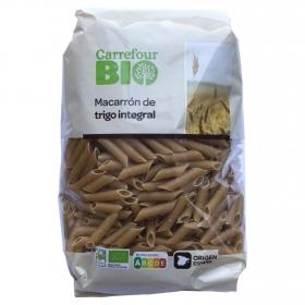 Macarrón integral ecológico Carrefour Bio 500 g.