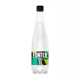 Agua mineral con gas Fonter  natural 1 l.