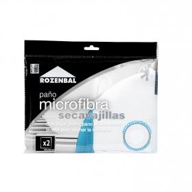 Paño Secavajillas Microfibra ROBENZAL 2 ud - Surtido