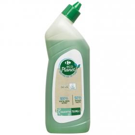 Gel WC ecualipto ecológico Carefour Eco Planet 750 ml.