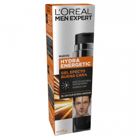 Gel fluido efecto natural buena cara hyndra energetic L´oréal Men Espert 50 ml