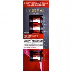 Ampollas efecto peeling revitalift laser L´oréal 7 ud.