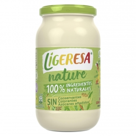 Mayonesa Nature Ligeresa sin gluten y sin lactosa tarro 430 ml.