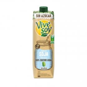 Bebida de soja clásica sin azúcar ViveSoy brik 1 l.