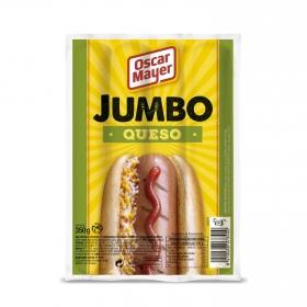 Salchichas Jumbo de queso Oscar Mayer 350 g.