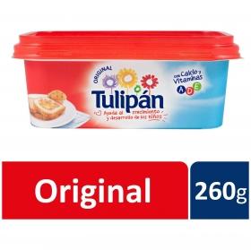 Margarina con calcio y vitaminas Tulipán 260 g.