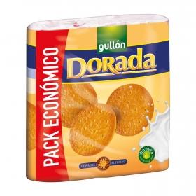 Galletas María dorada Gullón pack de 3 unidades de 200 g.