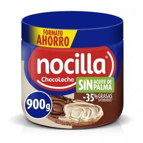 Crema de cacao y leche con avellanas Nocilla sin gluten y sin aceite de palma 900 g.
