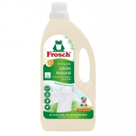 Detergente líquido concentrado jabón natural ecológico Frosch 1,5 l.