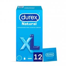 Preservativos natural XL Durex 12 ud.