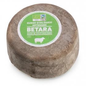 Queso curado de oveja ecológico Betara 400 g aprox