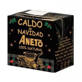 Caldo natural de Navidad Aneto sin gluten sin lactosa 500 ml