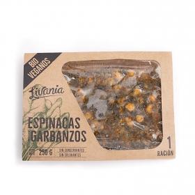 Espinacas con garbanzos ecológicas 250 g