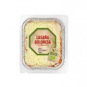 Lasaña boloñesa ecológica 400 g