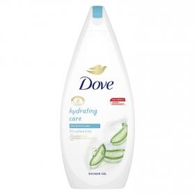 Gel de ducha cuidado hidratante aloe vera y agua de abedul Dove 750 ml.