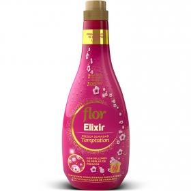 Suavizante concentrado fresca suavidad temptation Flor Elixir 50 lavados.