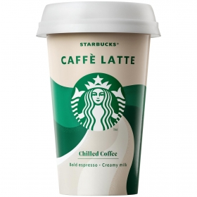 Café latte Starbucks 220 ml.