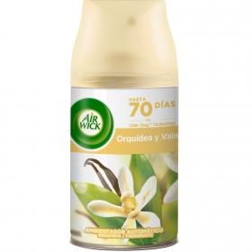 Recambio ambientador automático orquídea y vainilla Air Wick Freshmatic 250 ml.