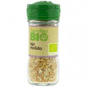 Ajo molido ecológico Carrefour Bio 35 g.