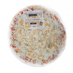 Pizza 4 quesos 380 g