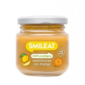 Tarrito de Multifrutas Ecológicas Smileat 130 gr 4m+