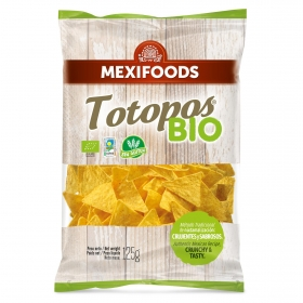 Chips sal ecológico Mexifood 125 g.
