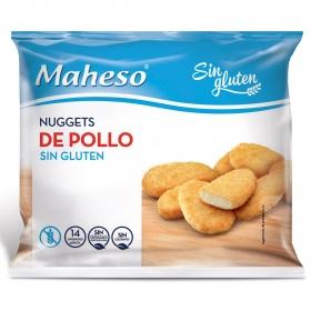 Nuggets de pollo Maheso sin gluten 300 g.