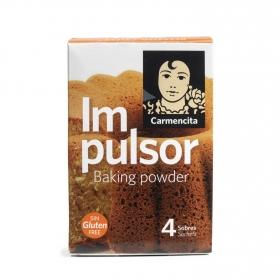 Levadura en polvo Carmencita sin gluten 60 g.