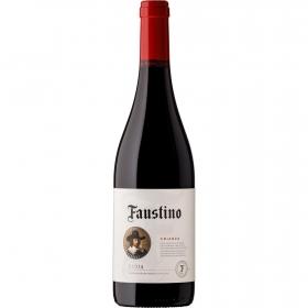 Vino D.O. Rioja tinto crianza Faustino 75 cl.