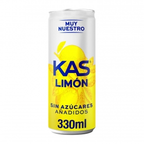 Kas de limón zero lata de 33 cl.