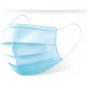 Pack 10 mascarillas higiénicas no reutilizables color azul h91 medical bs.10
