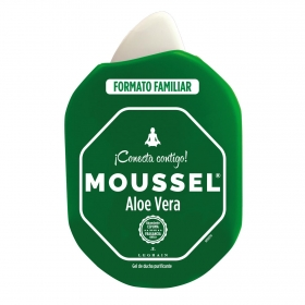 Gel de ducha aloe vera Moussel 900 ml.