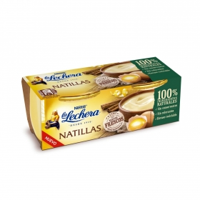 Natillas La Lechera pack de 2 unidades de 100 g.