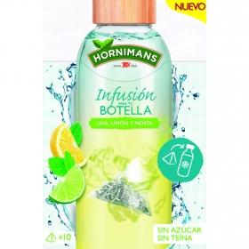 Infusión para tu botella de lima, limón y menta en pirámides Hornimans 10 ud.