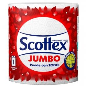 Papel de cocina Jumbo Scottex 1 rollo.