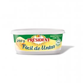 Mantequilla faácil de untar Président 250 g.