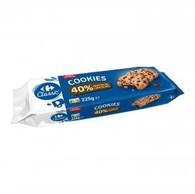 Cookies con pepitas de chocolate Carrefour 225 g.