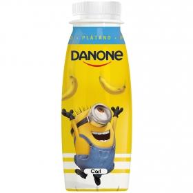 Yogur líquido de plátano Danone 245 g.