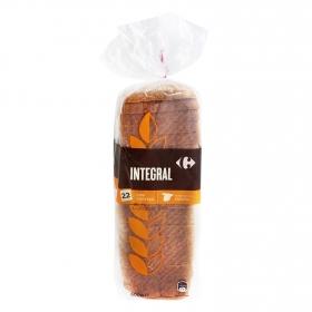 Pan integral con corteza Carrefour 600 g.