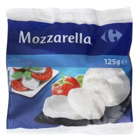 Queso mozzarella Italiana Carrefour 125 g.
