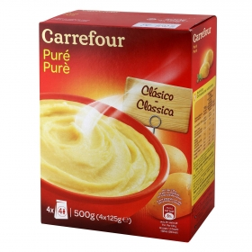 Puré de patatas Carrefour 500 g.