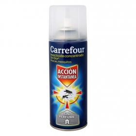 Insecticida concentrado contra voladores ' Max ' sin olor Carrefour 400 ml.